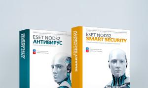 Антивирус Eset NOD32 на 3 ПК лицензионный, купить онлайн лицензию