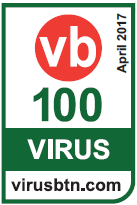 ESET NOD32 Internet Security получает награду VB100 от Virus Bulletin